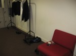My pretty awesome dressing room